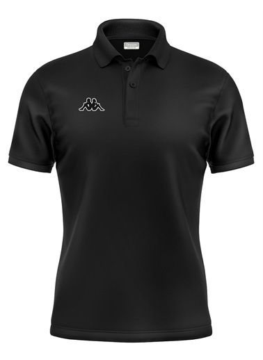 Kappa Polo T-Shirt Hege  Siyah